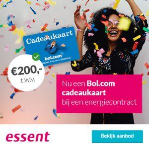 Bolcom Cadeaubon 200 Bij Essent Drie Jaar